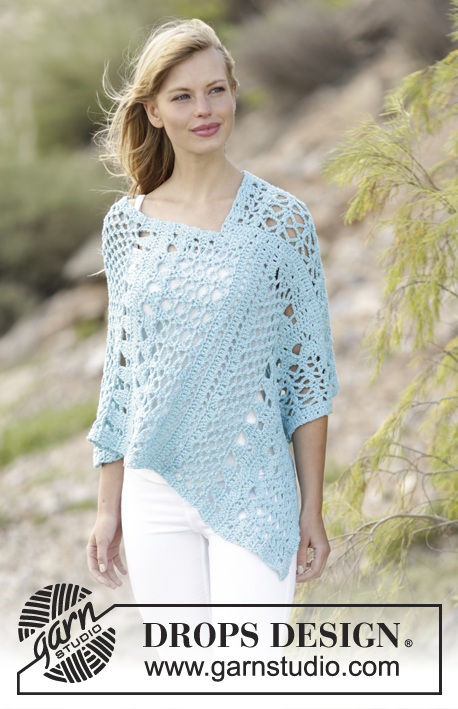 Sky Love Drops 168 13 Free Crochet Patterns By Drops Design