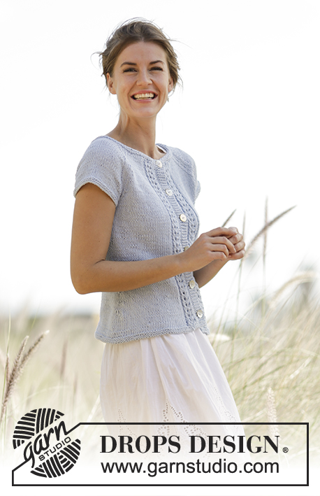 Charlotte Cardigan / DROPS 168-9 - Free knitting patterns by DROPS ...