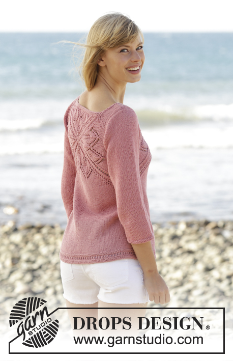 Butterfly Heart Drops 170 3 Free Knitting Patterns By Drops Design