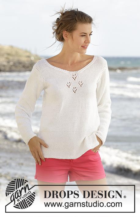 Conhecido Sunny Day / DROPS 170-8 - Modèles tricot gratuits de DROPS Design GU07