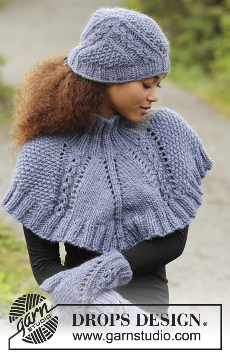 8954dc95017 A Royal Embrace   DROPS 171-18 - Free knitting patterns by DROPS Design