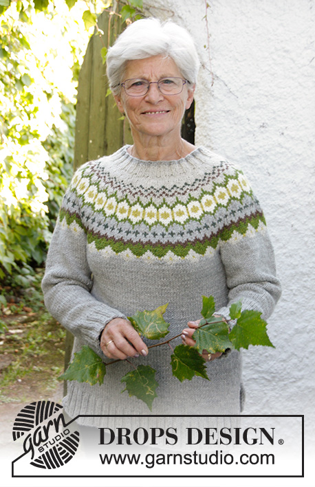Gemstone Drops 171 31 Free Knitting Patterns By Drops Design