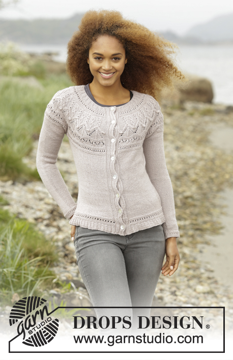 eb036792f20efd Crystal Bright Cardigan   DROPS 171-52 - Free knitting patterns by DROPS  Design