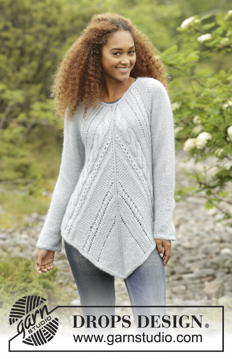 Winter Flair Drops 172 1 Free Knitting Patterns By Drops Design