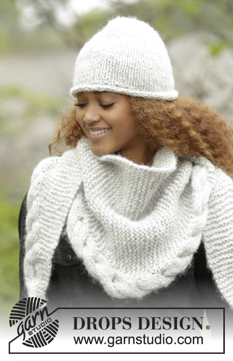 Winter Cozy / DROPS 172-10 - Free knitting patterns by DROPS Design