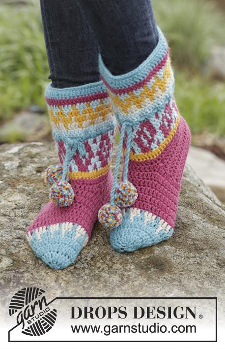 Rock Them Socks Drops 172 19 Kostenlose Häkelanleitungen Von