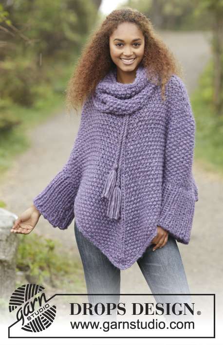 90aaa410267c96 Lavender Grove   DROPS 172-25 - Free knitting patterns by DROPS Design