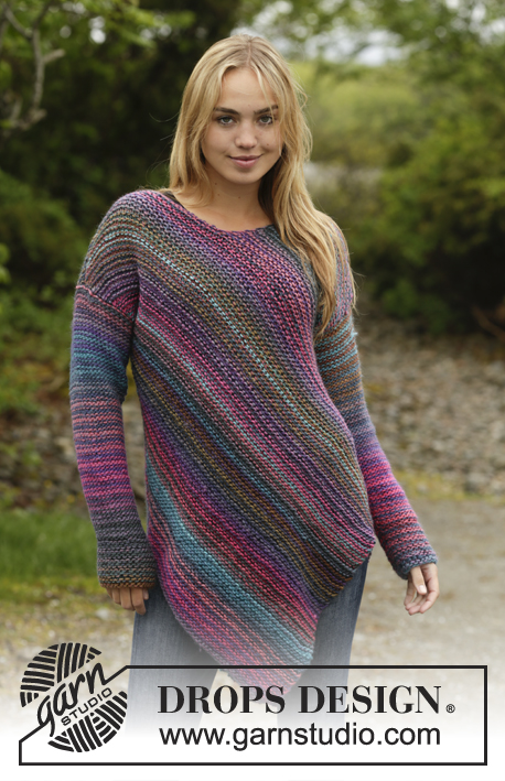 Sideways Glance Drops 172 26 Free Knitting Patterns By Drops Design