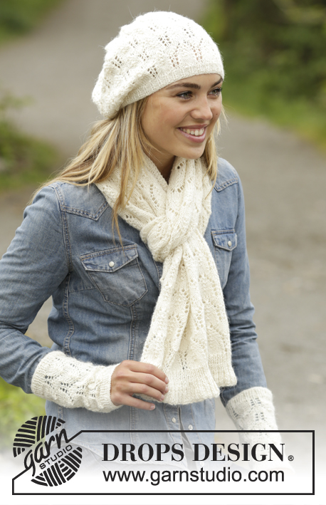 Snow Angel Drops 172 29 Free Knitting Patterns By Drops Design