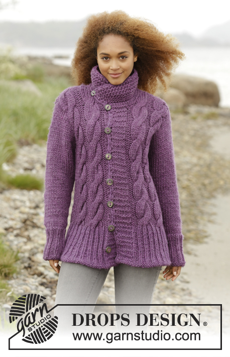 a74aa6ef4cb15f Winter Orchid   DROPS 172-39 - Free knitting patterns by DROPS Design