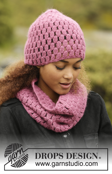Rosaline Drops 172 6 Free Crochet Patterns By Drops Design
