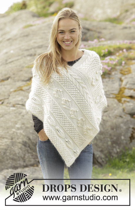 Snow Beads / DROPS 173-12 - Free knitting patterns by DROPS Design