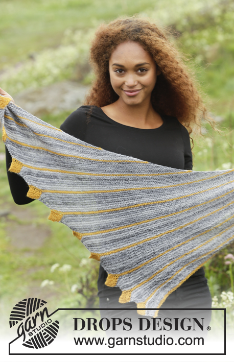 Dragon Tail / DROPS 173-19 - Free knitting patterns by DROPS Design