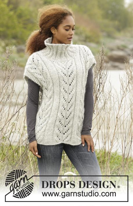 eeab44dcb5cf Come Winter   DROPS 173-46 - Návody na pletení od DROPS Design zdarma