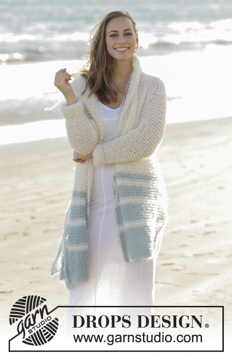 Driftwood Drops 175 2 Free Knitting Patterns By Drops Design