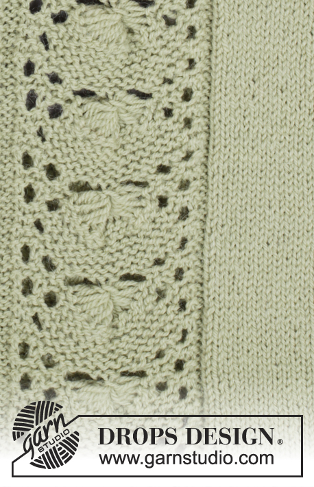 Sweet Ivy Leaves / DROPS 175-25 - Free knitting patterns by DROPS Design