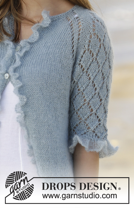 0fbe4cdc4e38 Seaside Dream Cardigan   DROPS 175-29 - Free knitting patterns by ...