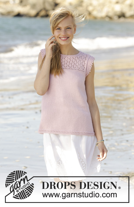 Amandine / DROPS 176-12 - Free knitting patterns by DROPS Design