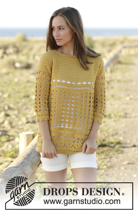 Sahara / DROPS 176-18 - Free crochet patterns by DROPS Design