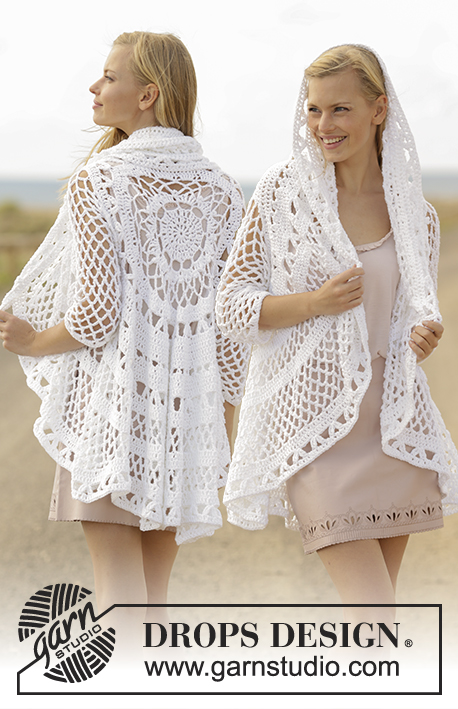 A Flair for Spring / DROPS 177-10 - Free crochet patterns by DROPS ...