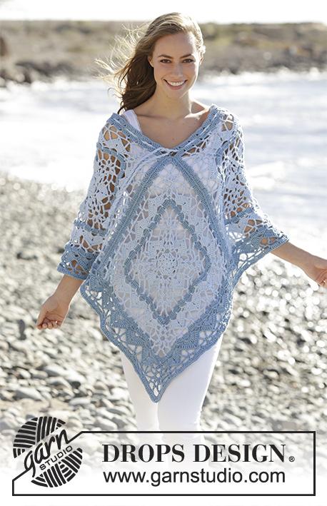 Tide / DROPS 177-19 - Free crochet patterns by DROPS Design