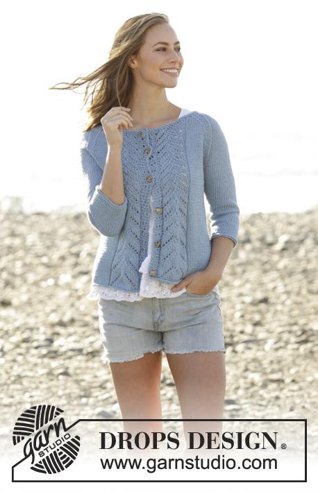 3f620a61d Wavelength Cardigan   DROPS 177-21 - Free knitting patterns by DROPS ...
