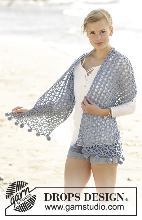 Pebble Beach Drops 177 23 Modèles Crochet Gratuits De Drops Design