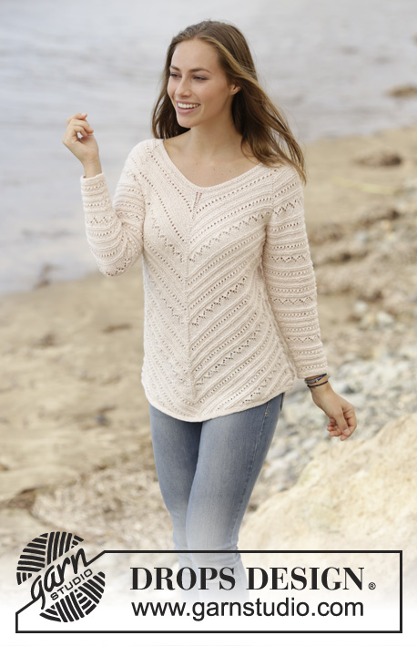 Chevron Delight / DROPS 177-6 - Free knitting patterns by DROPS Design