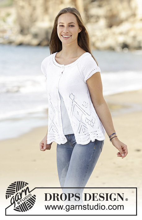 Summer Swing Cardigan Drops 178 31 Free Knitting Patterns By