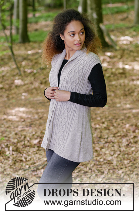 Morgans Daughter Vest Drops 179 13 Free Knitting Patterns By