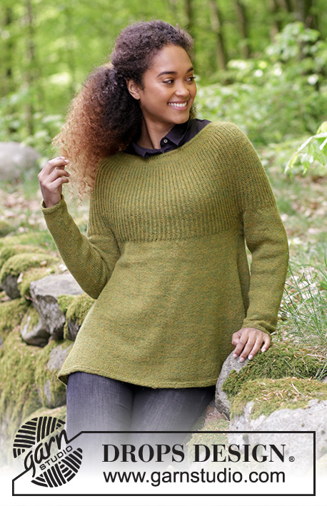f4ffdb4304ec Evergreen   DROPS 180-11 - Free knitting patterns by DROPS Design
