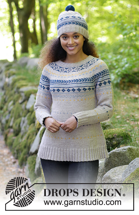 Lillehammer / DROPS 180-18 - Free knitting patterns by DROPS Design