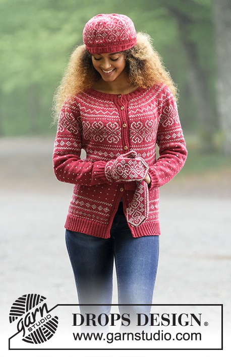 Rosendal Drops 181 1 Free Knitting Patterns By Drops Design