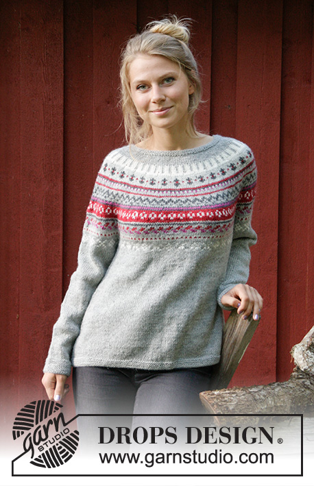 Winter Berries Drops 181 16 Free Knitting Patterns By Drops Design