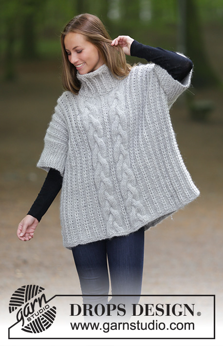 Winter Snuggle / DROPS 181-18 - Free knitting patterns by DROPS Design