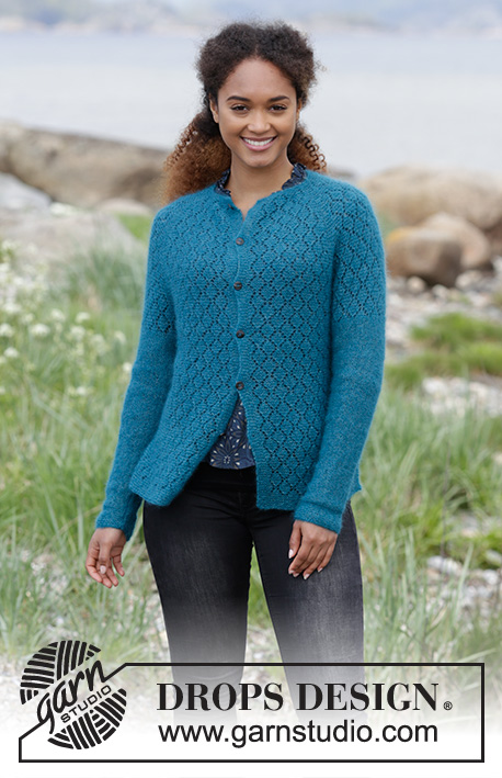 b8adc54c8772f Song of the Sea Cardigan   DROPS 181-21 - Free knitting patterns by DROPS  Design