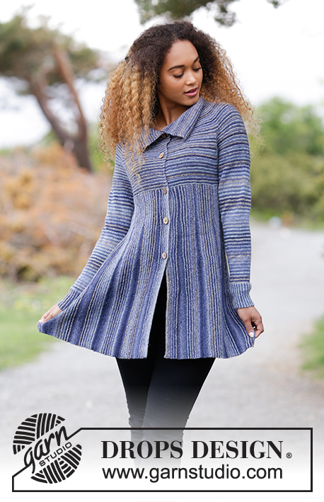 Swagger / DROPS 181-27 - Free knitting patterns by DROPS Design