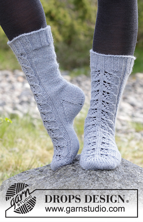 Lace Warmers Drops 182 14 Free Knitting Patterns By Drops Design