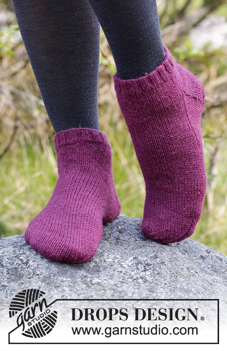 Toasty Toes Drops 182 15 Free Knitting Patterns By Drops Design