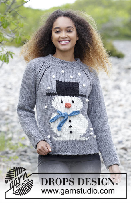 Frostys Christmas Drops 183 13 Free Knitting Patterns By Drops