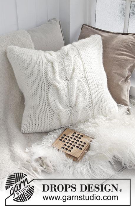 Cuscini Grossi.Cozy Weekend Pillow Drops 183 43 Modelli Di Maglia Gratuiti Di
