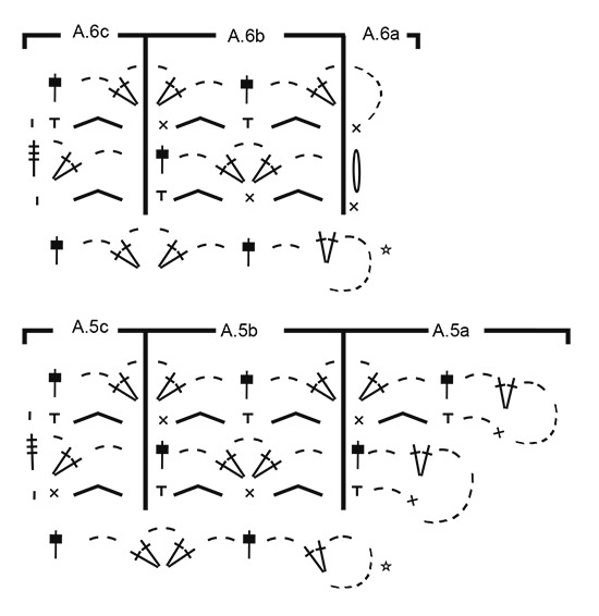 Cobalt Net / DROPS 184-31 - Patrones de ganchillo gratuitos por ...