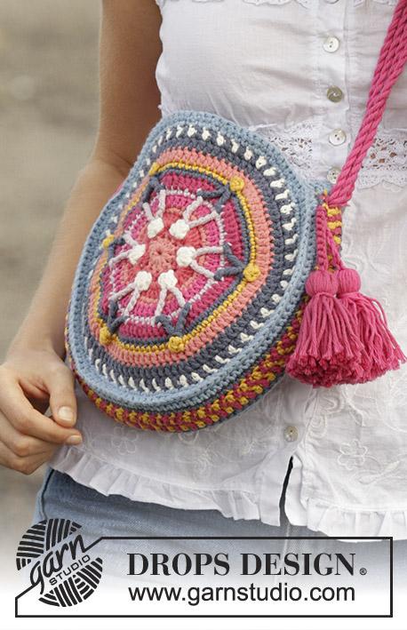 Summer Treasure / DROPS 186-10 - Free crochet patterns by