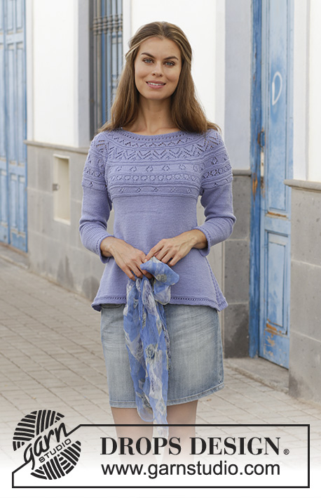 e3d9454ccc2e Taormina Sweater   DROPS 186-29 - Free knitting patterns by DROPS Design