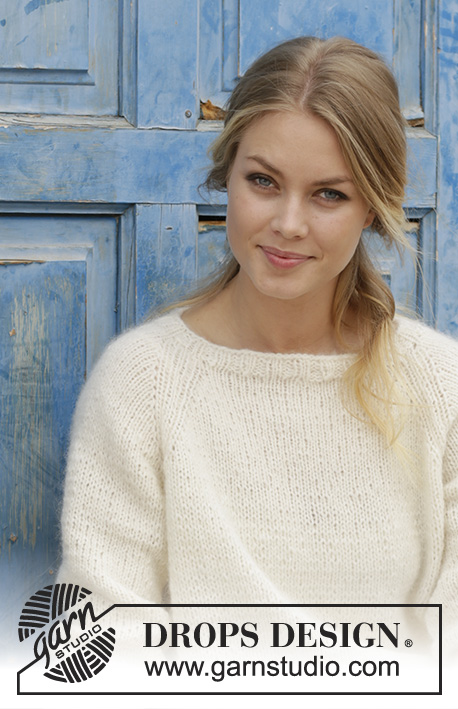 Carly Pullover Drops 186 30 Free Knitting Patterns By Drops Design