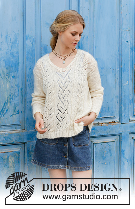7d5f44516 The Pearl   DROPS 186-31 - Free knitting patterns by DROPS Design