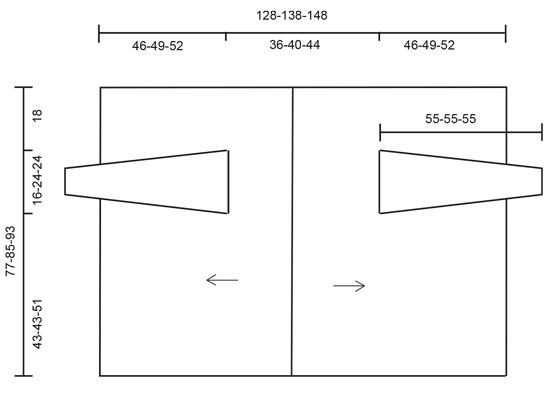 Kyliena / DROPS 186-33 - Kostenlose Häkelanleitungen von DROPS Design