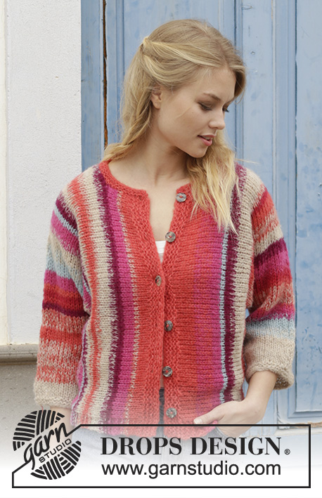 Red Berry Hill Drops 187 18 Free Knitting Patterns By Drops Design