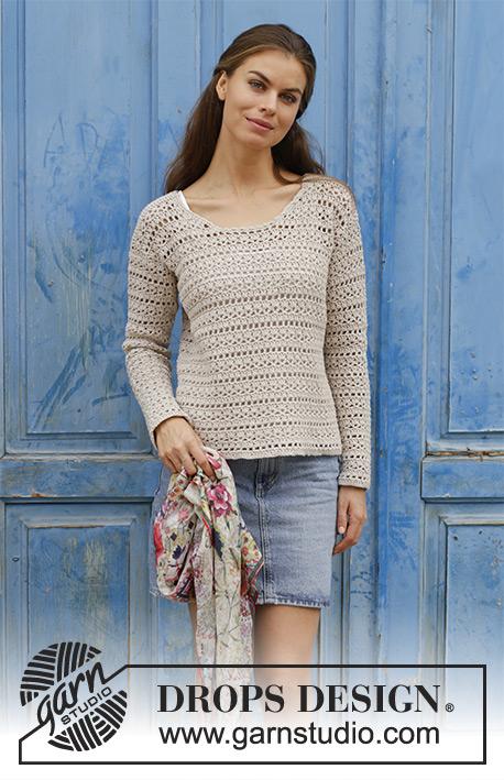 Miles Away Drops 187 2 Modèles Crochet Gratuits De Drops Design