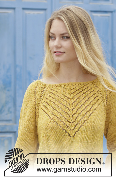 67c38a9a9972 Hello Yellow   DROPS 187-4 - Free knitting patterns by DROPS Design